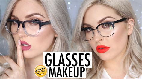 makeup tutorial for glasses makeup tutorial for glasses lookbook frames lipstick