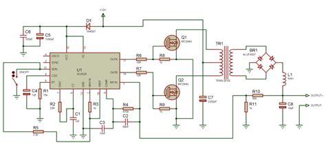 Rc 188 Senter Charge Listrik inversor de tens 227 o pwm 60hz onda retangular projeto
