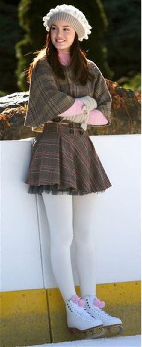Gossipgirl Legging Pink style on set on gossip fashion blair
