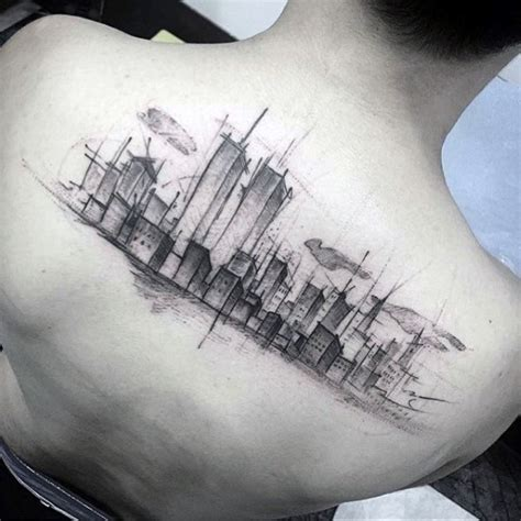 watercolor tattoo kansas city 70 city skyline designs for downtown ink ideas