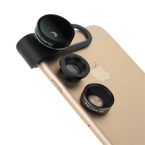 iphone lens this 3 in 1 lens kit for iphone 6 is a low cost beginner s kit for iphone photographers