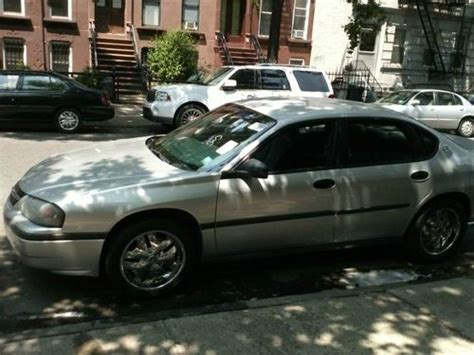 2002 chevy impala tires sell used 2002 chevy impala silver 4 18 quot rims one needs