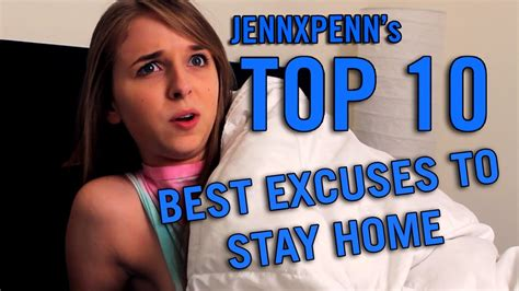 jennxpenn s top 10 best excuses to stay home from school