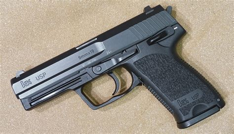 review heckler koch usp 9mm