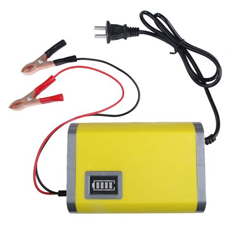 Portable Motorcycle Car Battery Charger 6a 12v New Portable Adapter Power Supply 12v 6a Motorcycle Car Auto Battery Charger Us Intelligent