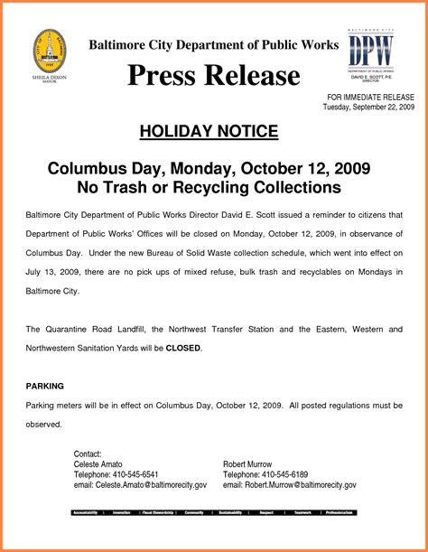 8 closure notice sle notice letter