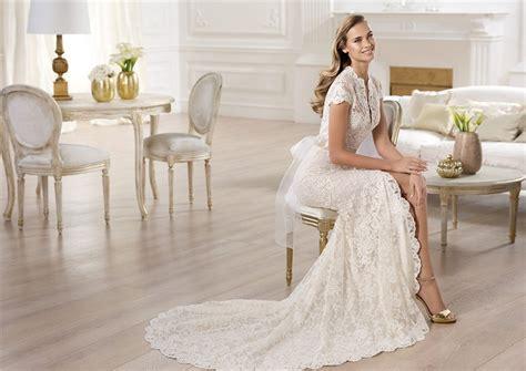 Bow Slit Black White Dress Size Sml fashion a line high neck cap sleeve lace wedding dress