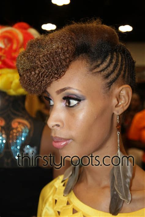 african american side braided hairstyles side braided bun hairstyle