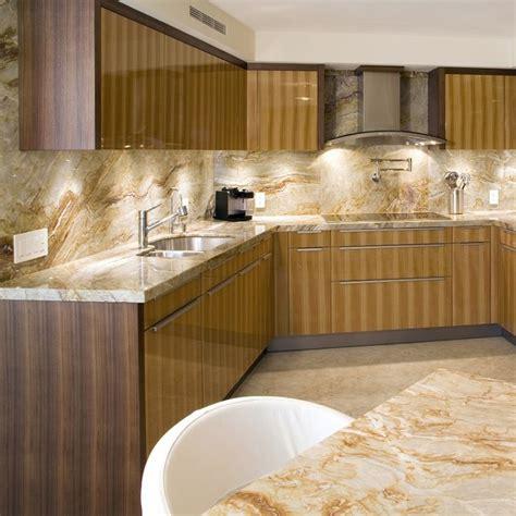 brazilian dream granite contemporary kitchen miami  marble   world