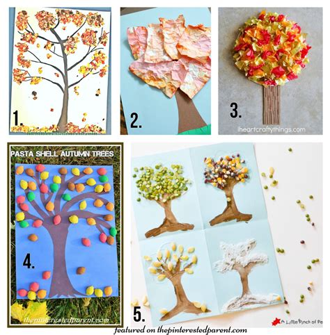 beautiful crafts for 20 fall tree arts crafts ideas for the