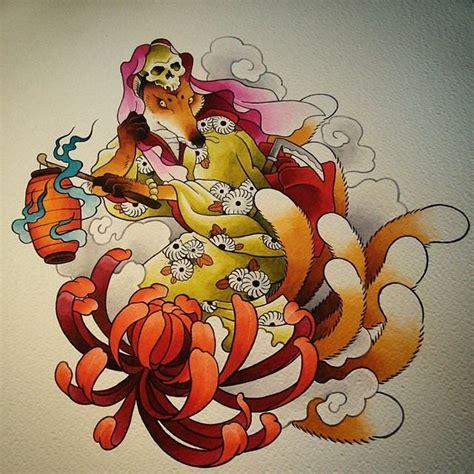 zorro tattoo oriental japanese kitsune tattoo pinterest