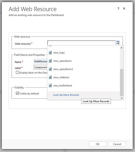 Look Up Records Make Your Own Custom Shortcuts On A Crm Dashboard In
