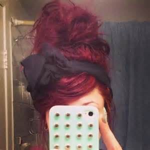 maroon colored hair burgundy hair dye forums haircrazy