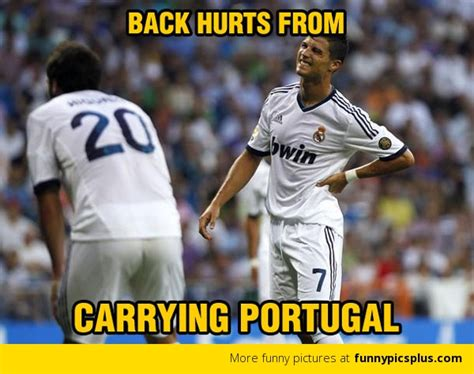 Cristiano Ronaldo Memes - ronaldo carrying portugal meme funny pictures cute and