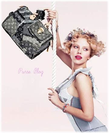 Johansson For Louis Vuitton Part Two by Johansson Is Pretty In Pink For Louis Vuitton