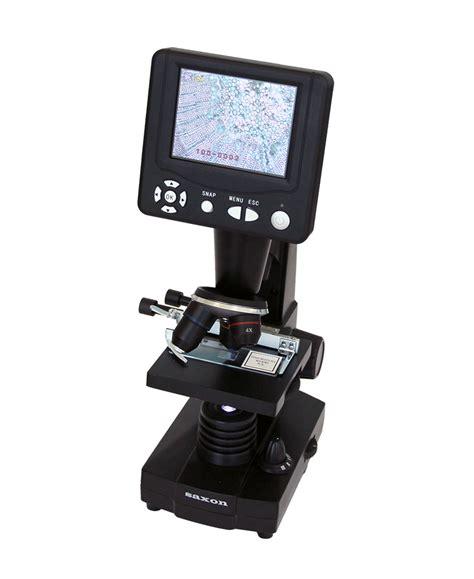 Digital Microscopy saxon saxon sciencesmart lcd digital microscope
