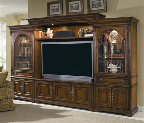 glass doors for entertainment wall furniture brookhaven entertainment center with