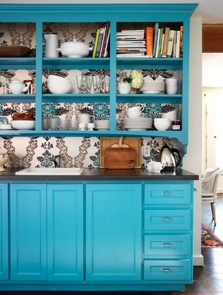 turquoise cabinets kitchen turquoise kitchen cabinets in the kitchen pinterest