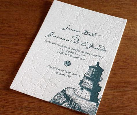 lighthouse wedding invitations lighthouse wedding invitation gallery cape cod