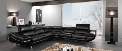 Decorating Around A Black Leather by Decorating Tips Around Modern Black Leather Furniture La