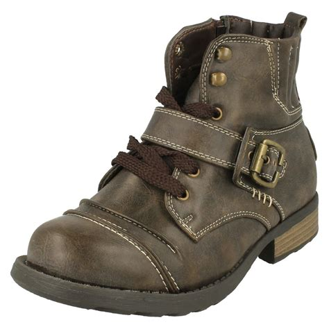 casual combat boots for boys cutie casual combat boots ebay