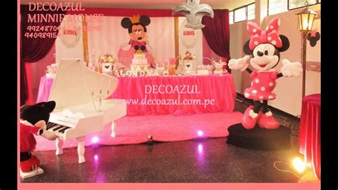 decoracion fiestas infantiles youtube decoracion de fiestas infantiles minnie mouse fiesta