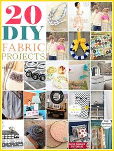 DIY Fabric Project Tutorials