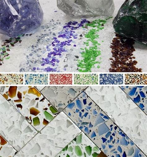 10 best ideas about recycled glass countertops on