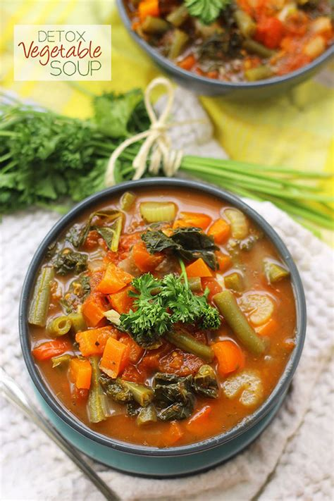 Detox Soup Vegetarian by Detox Vegetable Soup