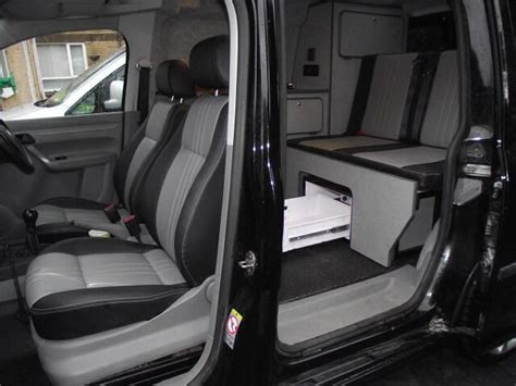 caddy interieur vw swb caddy interior day vans cers pinterest