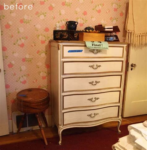 Refinished Dressers Before And After by Before After Refinished Dresser Card Catalog Design