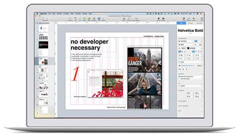 layout editor for mac digital publishing magazines brands corporate