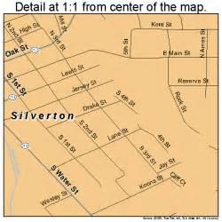 silverton oregon map 4167650