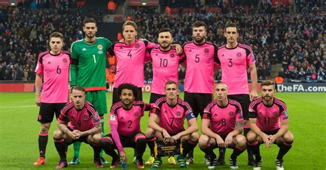 Another Pink Kit scotland facing another pink kit nightmare when
