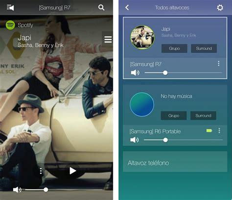 samsung multi room app samsung r7 y r6 portable probamos los altavoces multiroom con audio omnidireccional tuexperto