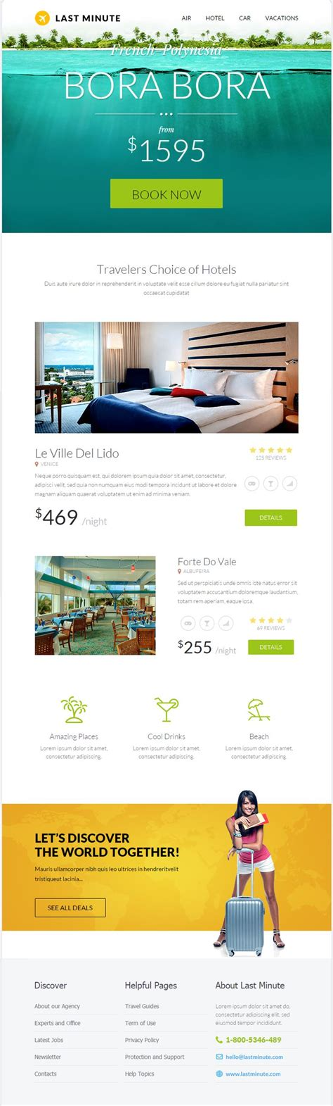 travel email templates 1000 ideas about email template design on