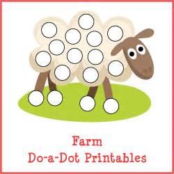 farm do a dot printables gift of curiosity