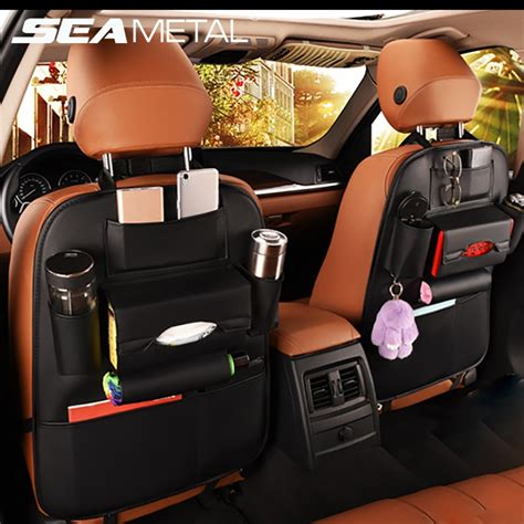 car seat  storage bag organizer travel box pocket pu
