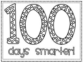 100 days smarter hat printable freebie by hannah martin
