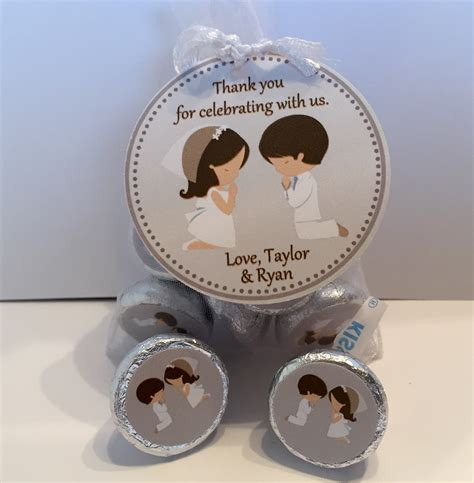First Communion Giveaways - twins first communion favors sweetdesignsbyregan