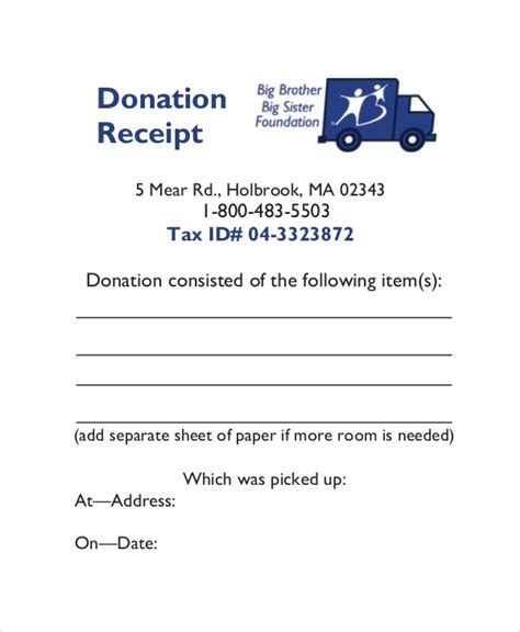 charity tax receipt template 15 receipt templates free premium templates