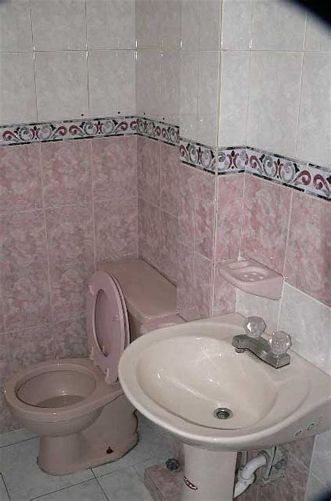 bathroom exles bathroom photo exle bathroom in a with pink and white tiles