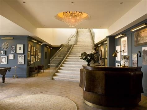Posh Home Interior A Peek Inside Soho House West Sohautestyle Com