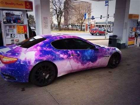 galaxy maserati galaxy painted maserati at the gas station by my