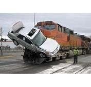 Train Was Struck Car Derailed Other Describe