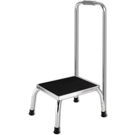 equipment step stool handrail metal step stool with handrail household stools and