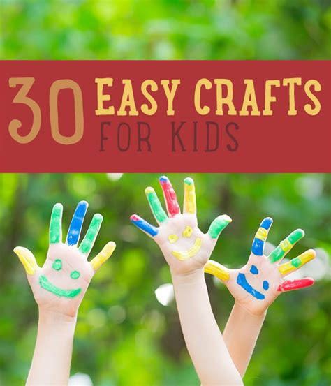 craft ideas for toddlers easy 30 easy crafts for