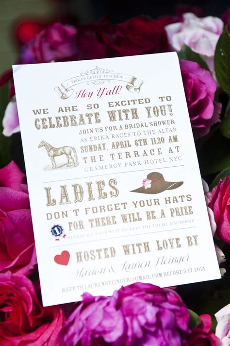Kentucky Derby Bridal Shower Ideas by 30 Best Images About Bridal Shower On
