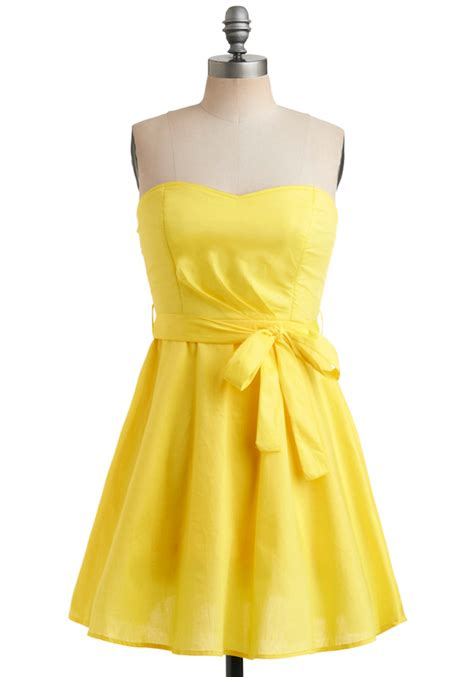 Ylw Dress yellow bridesmaid dress bitsy