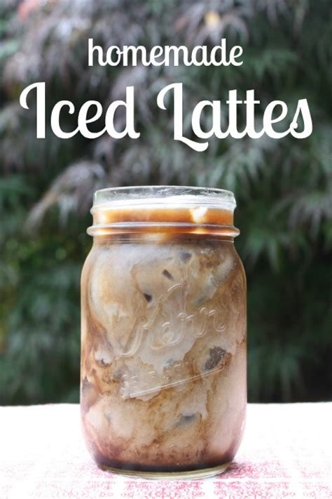 iced lattes and mochas recipes